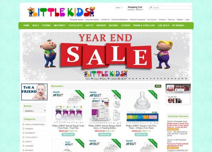 LittleKids.com.my – One Stop online Baby Store
