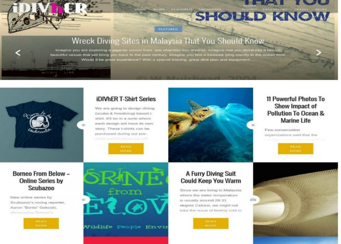 Malaysia's Swimming, Scuba Diving, Freediving & Travel Resources
