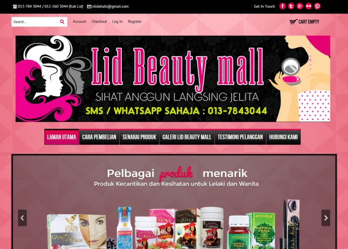 Lid Beauty Mall