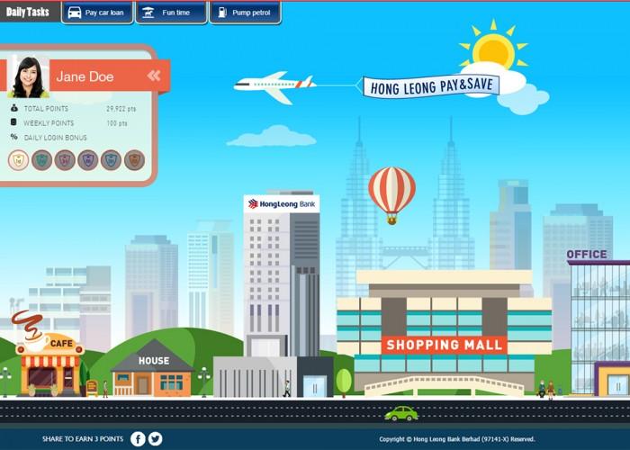 Hong Leong Bank Pay&Save Lifestyle