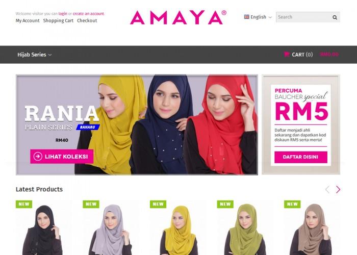 AMAYA – Butik Online Gaya Muslimah Urban