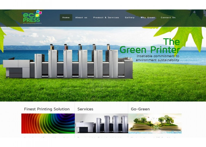 Ecopress, Your total printing solutions