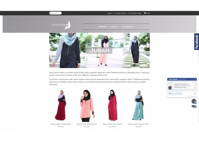 Azza Lamees – Simple Elegant Muslimah Fashion
