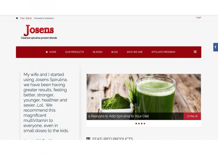 Josens for Your Health