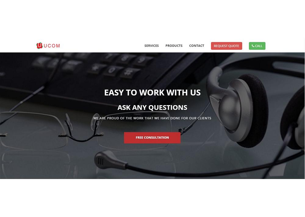 UCOM Malaysia website development
