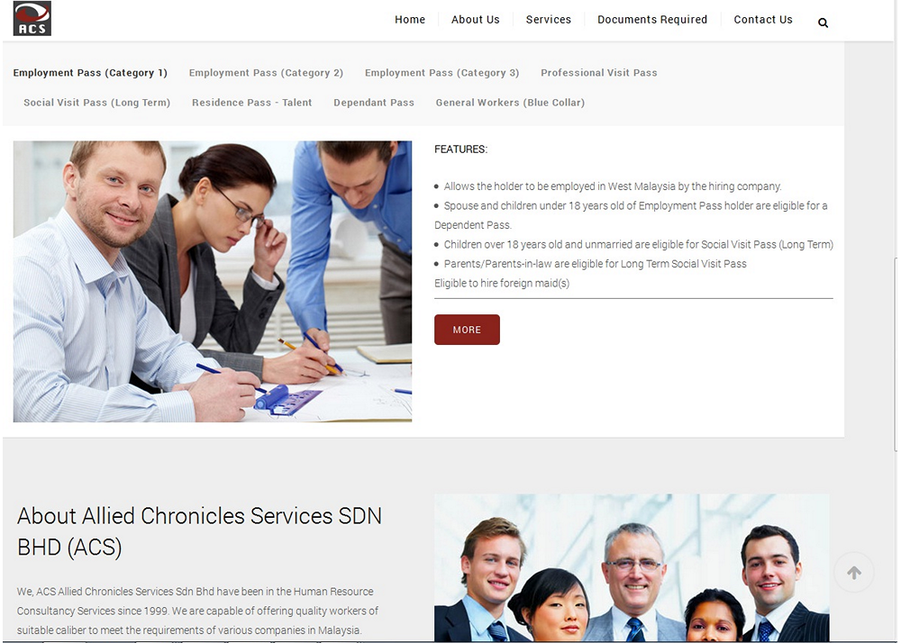 ACS, The Human Resource Consultancy Services Provider