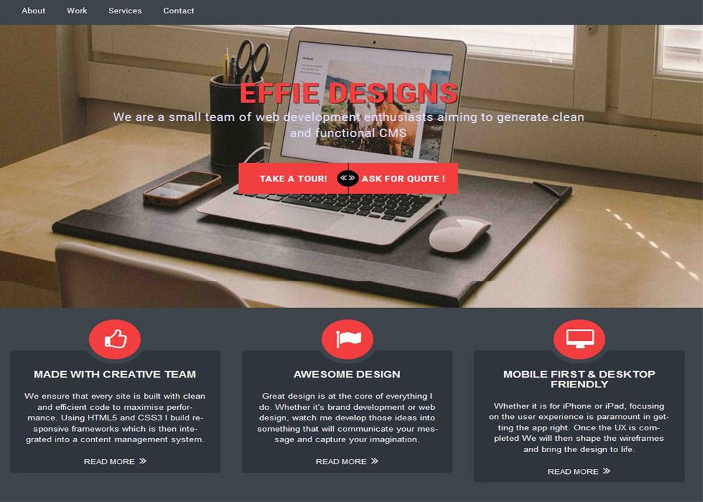 Freelance Web & User Interface Designer
