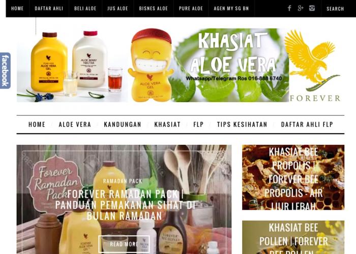 Khasiat Aloe Vera – Pengedar Forever Living Products Malaysia