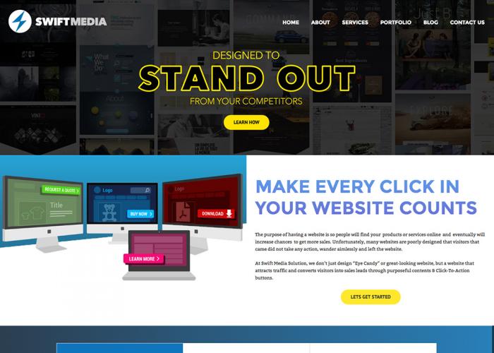 Swift Media Solution – Professional Web Design Company