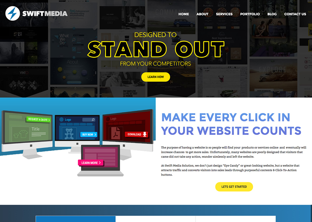 Swift Media Solution – Professional Web Design Company