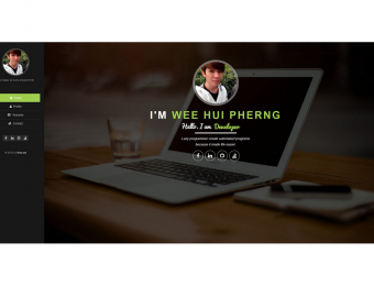 Wee – Web Developer – Personal Website