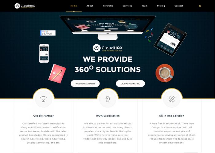 CloudHAX Web Development & Digital Marketing