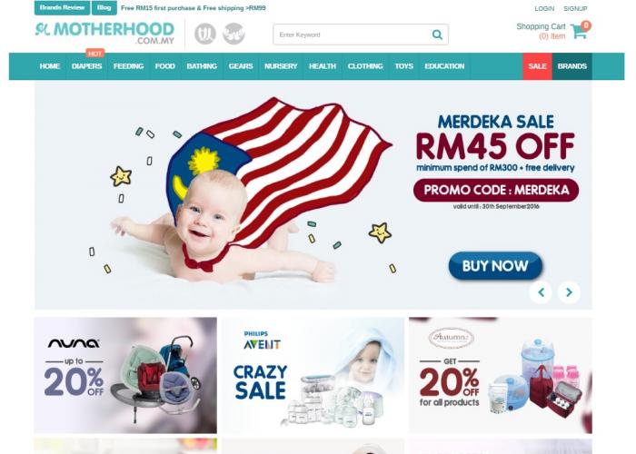 Malaysia Motherhood & Baby Marketplace