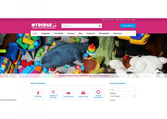 MyBudak.com – Buy and sell baby and kids items in Malaysia