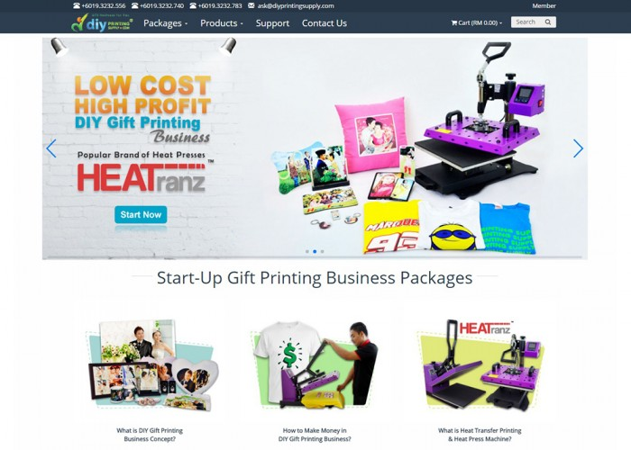 Home Based Business – DIY Gift Printing