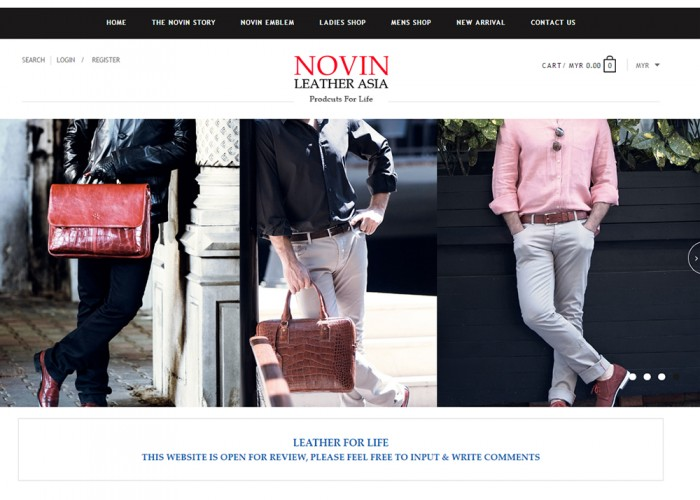 Novin leather
