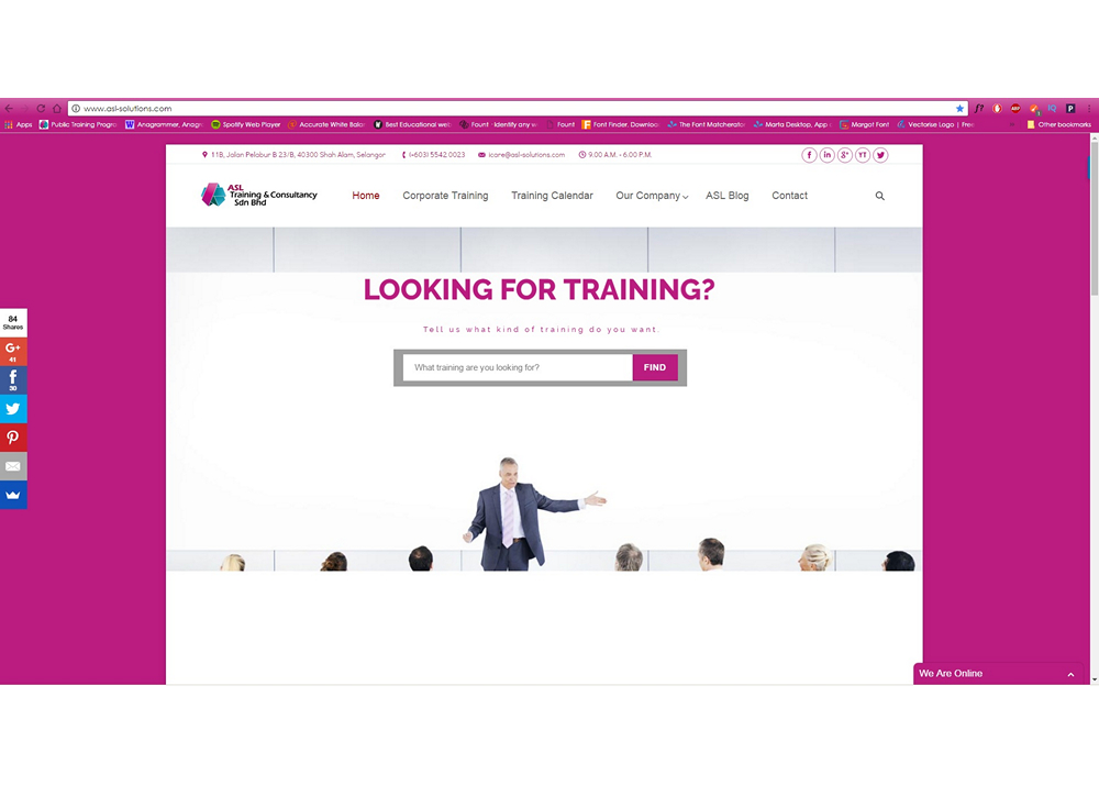 Training and Development | ASL Training