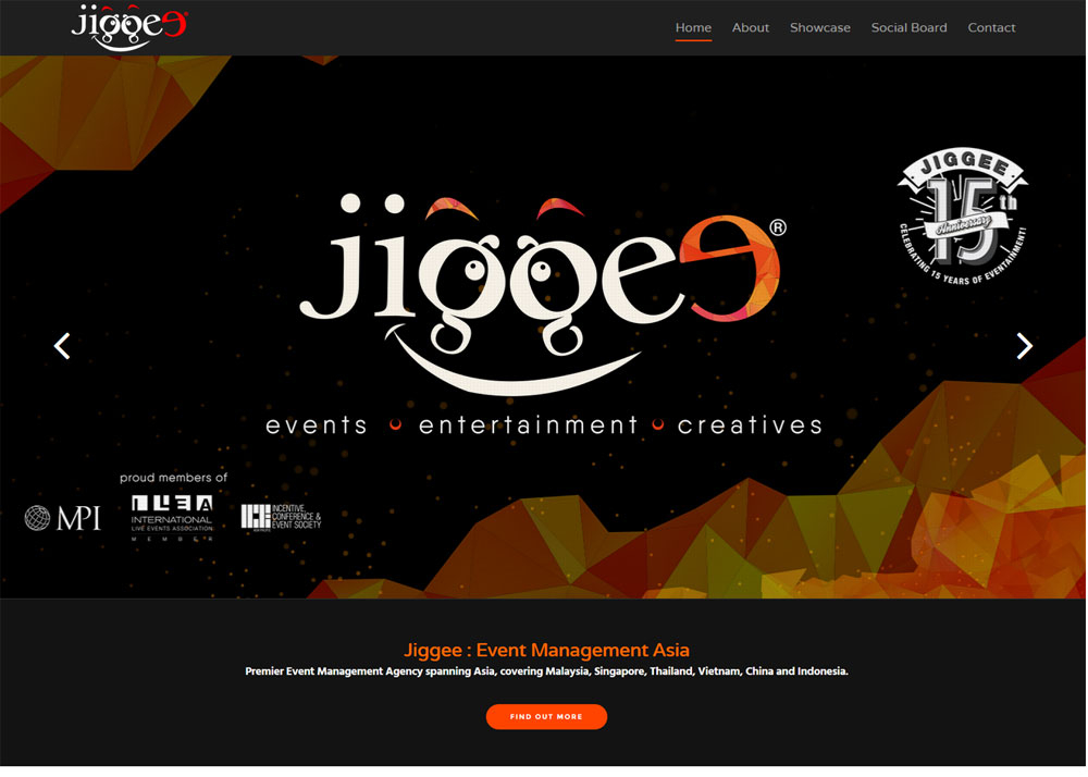 Jiggee Premier Event Management