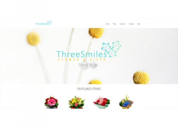 Three Smiles – Flower & Gifts