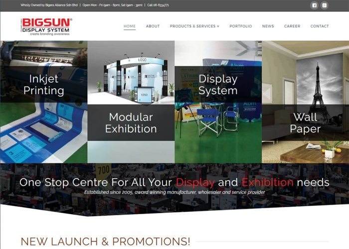 Bigsun Displays – Banner, Displays & Exhibition Systems