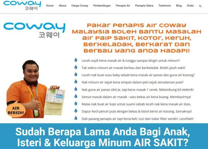 Penapis Air & Udara Coway Malaysia