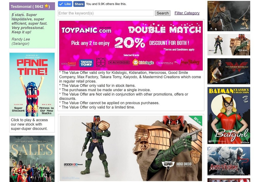 Toypanic – Penang and Malaysia online toy shop for toys & collectibles