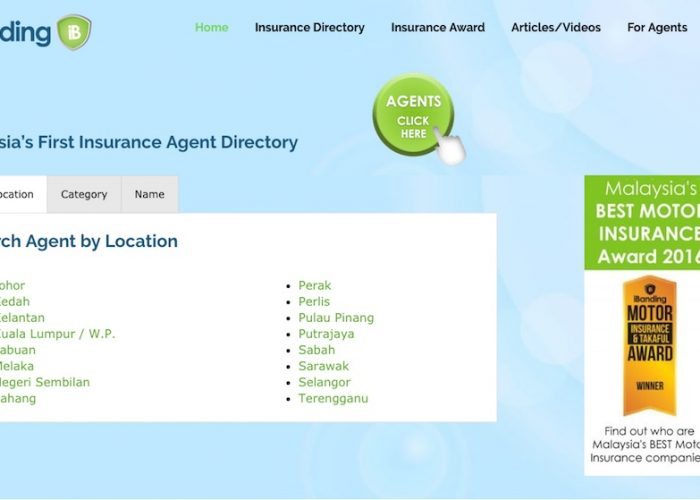 Malaysia's First Insurance Agent Directory