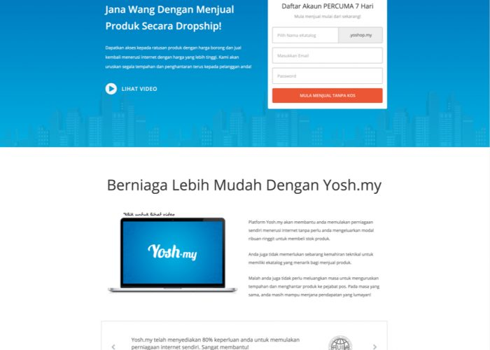 Your Online Shopping Hub! – Malaysian Online Dropship Platform System