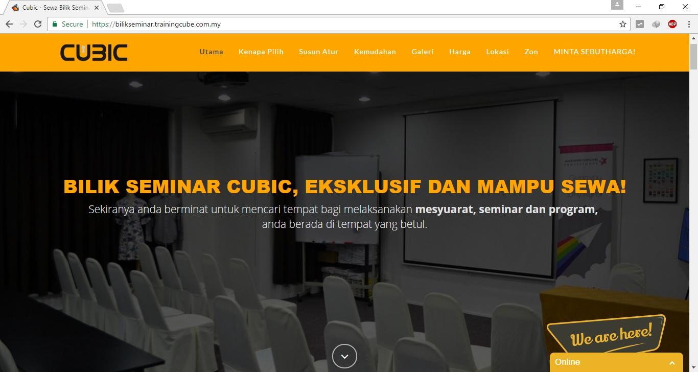 Cubic Bilik Seminar Ampang