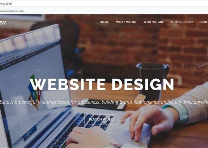 Jinnesy Official Website | Web Design