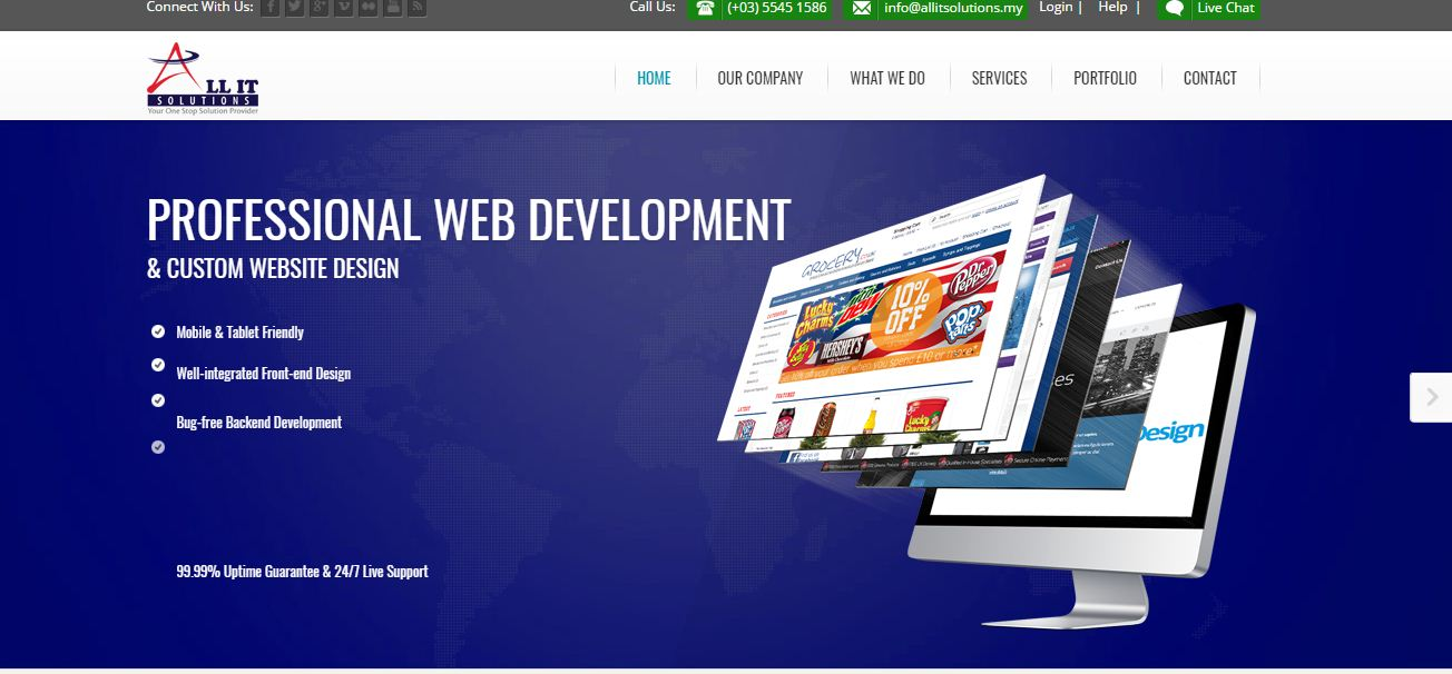 All IT Solutions || Web Design and E Commerce Solutions