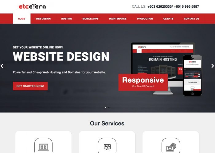 Etcetera – Web Design & Mobile Apps Development