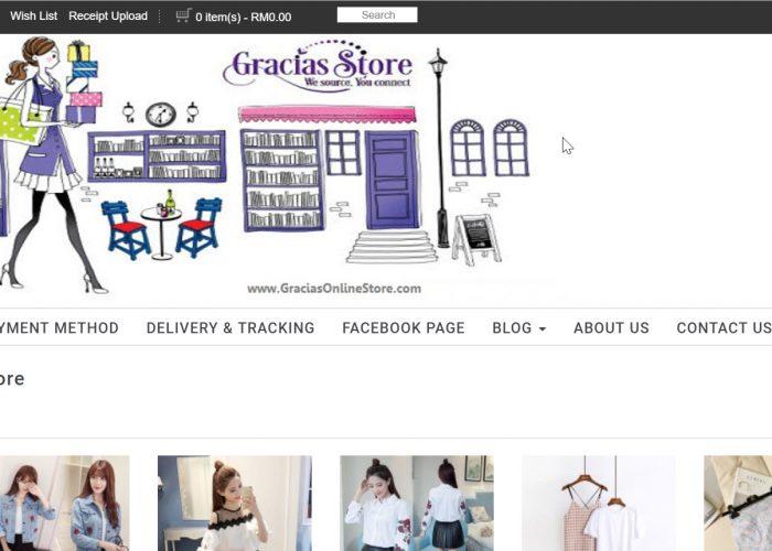 Gracias Online Store