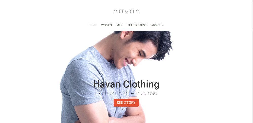 Havan Clothing – Fashion with a purpose