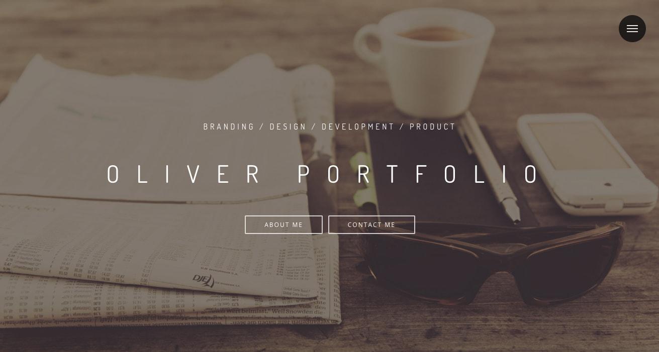 Personal portfolio/website of Oliver Sim