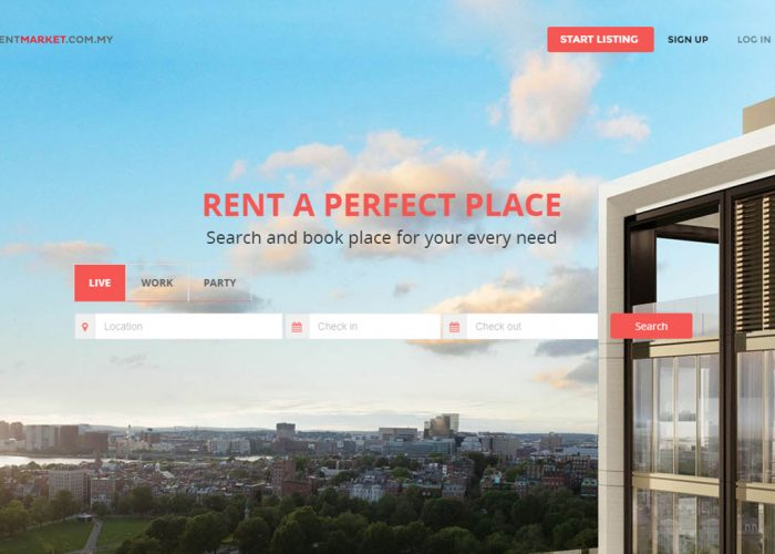 Property rental platform