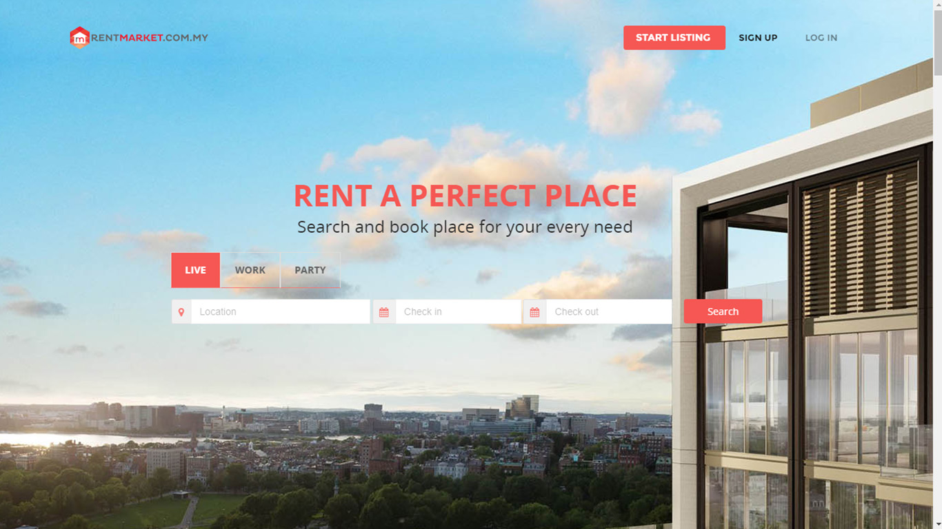 Property rental platform