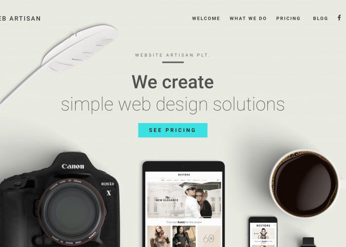Website Artisan PLT
