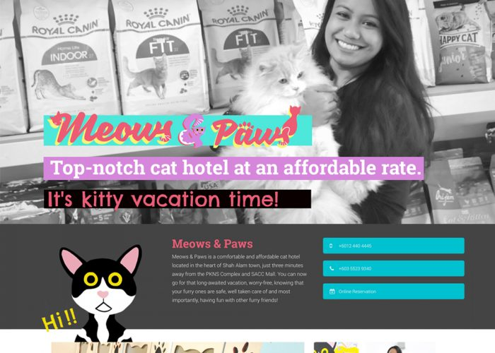 Meows & Paws Cat Hotel | Shah Alam, Malaysia