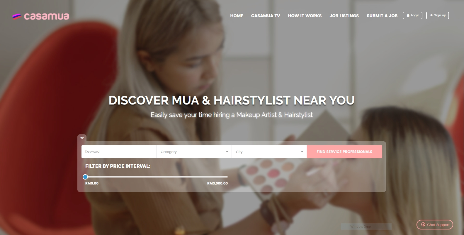 CasaMUA – Hire Makeup Artist & Hairstylist Marketplace