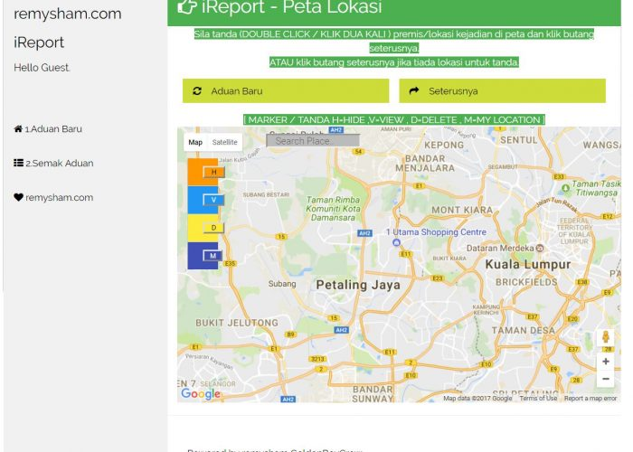 iReport ( eAduan )