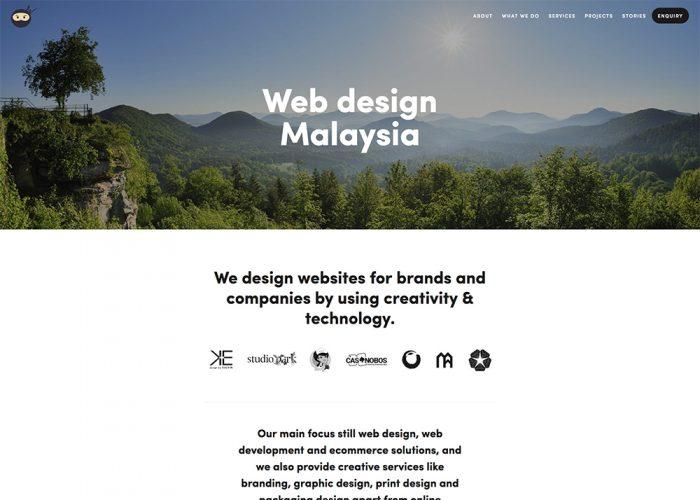 Web Ninja Studio —  Web Design Malaysia