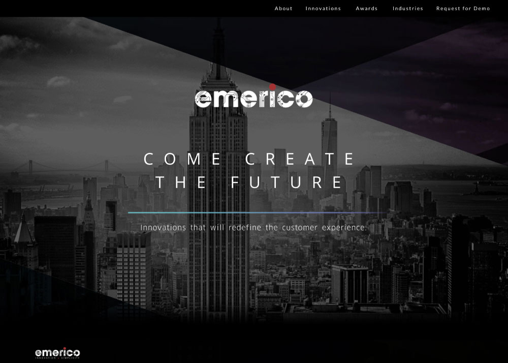 Emerico Corporate Website