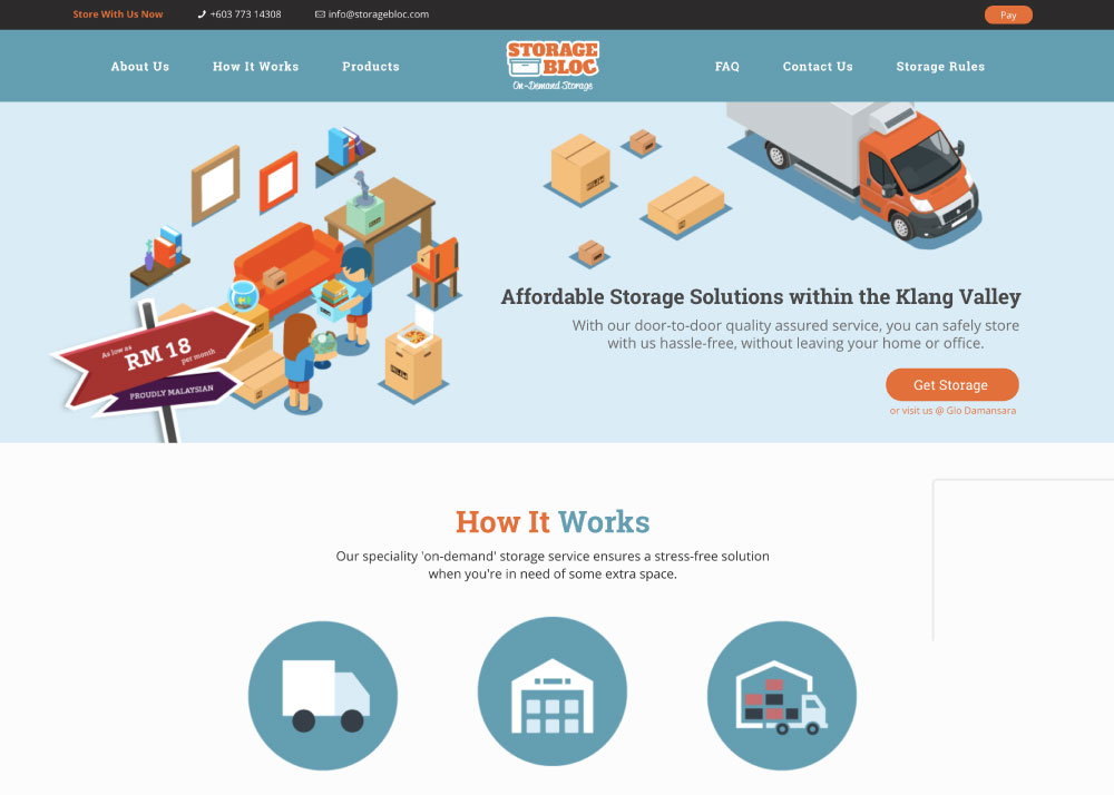 Storage Bloc – Online Storage Solution