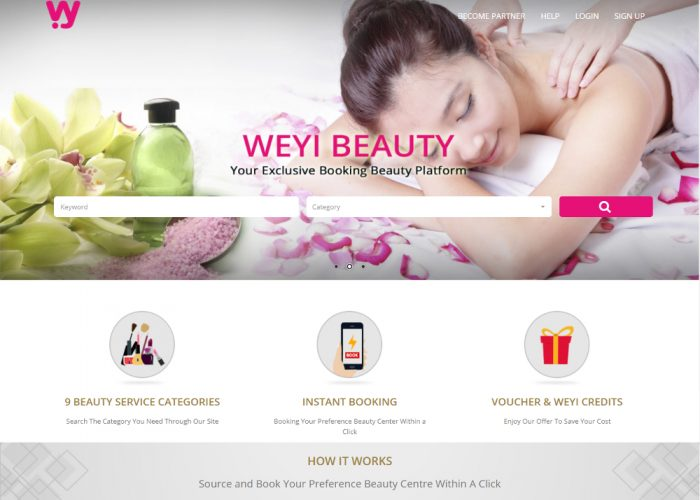 Weyi Beauty – Exclusive Booking Beauty Platform