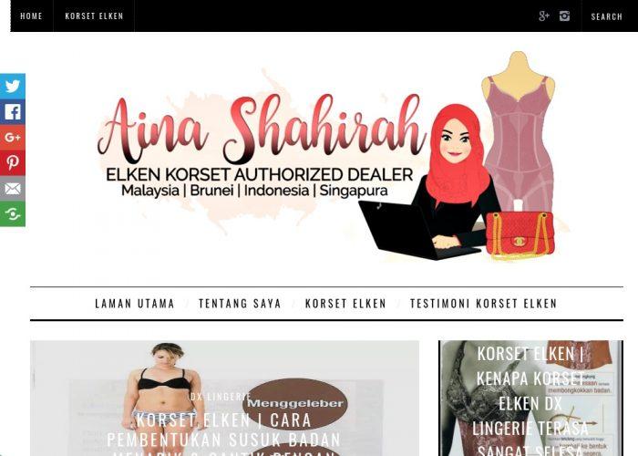 Aina Shahirah – Authorized Dealer Korset Elken