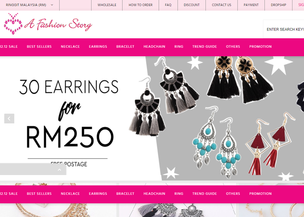 A Fashion Story – Ladies Fashion Accessories Online Shop