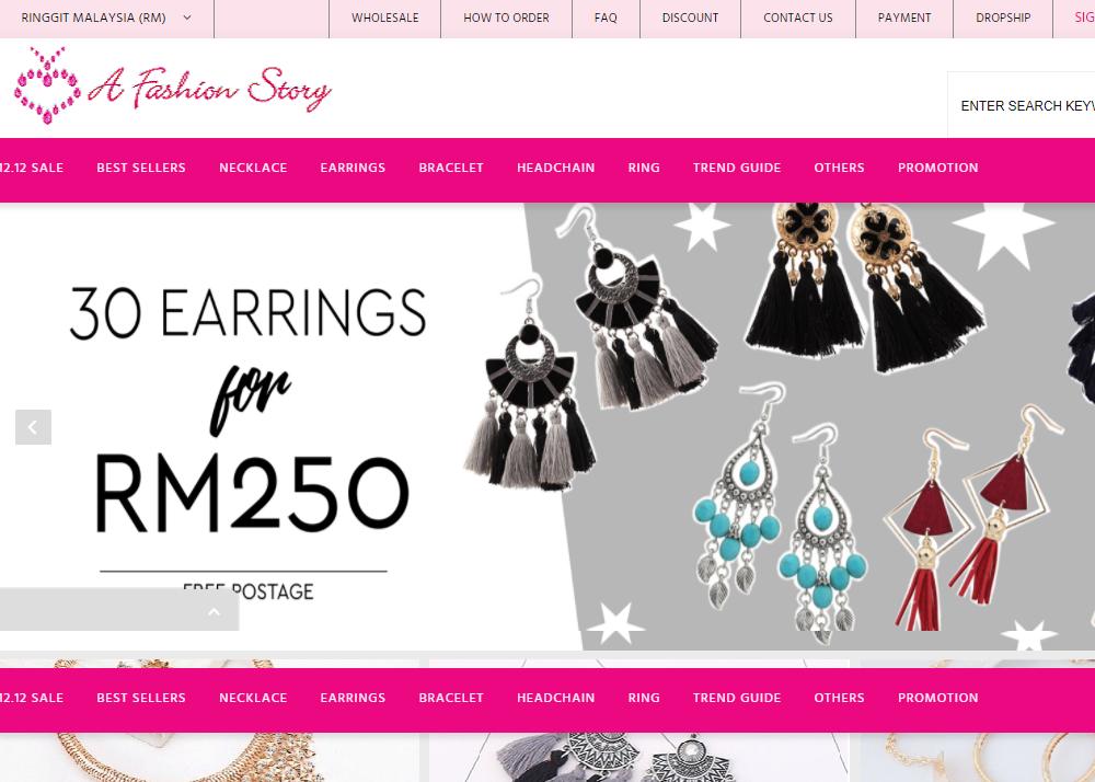 A Fashion Story – Ladies Fashion Accessories Online Shop