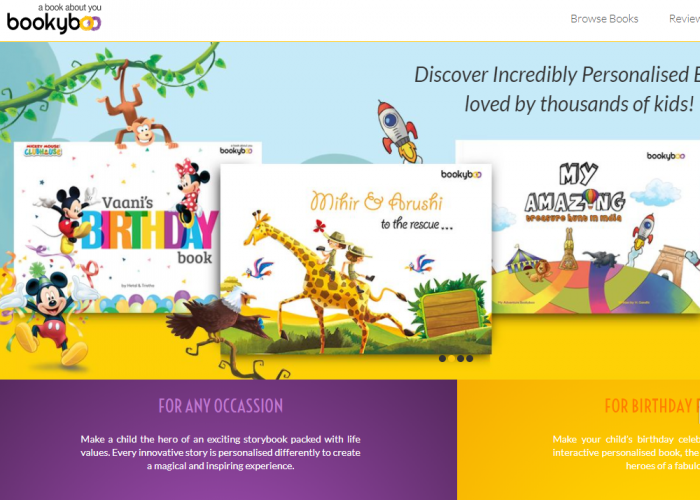Bookyboo | Personalised Story Books for Children in Seconds
