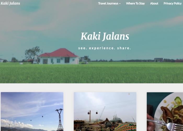Kaki Jalans – see. experience. share